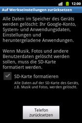 Samsung Galaxy Xcover - Fehlerbehebung - Handy zurücksetzen - 2 / 2