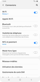 Samsung Galaxy Note9 - Android Pie - WiFi - Activez WiFi Calling - Étape 6