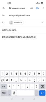 Oppo A72 - E-mails - Envoyer un e-mail - Étape 9