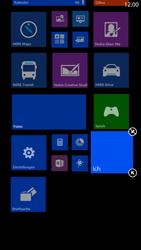 Nokia Lumia 1320 - Startanleitung - Personalisieren der Startseite - Schritt 7