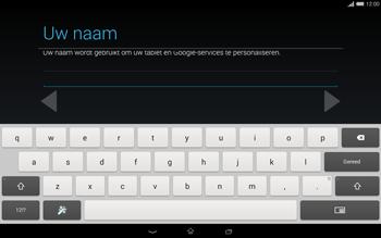 Sony Xperia Tablet Z2 4G (SGP521) - Applicaties - Account aanmaken - Stap 7
