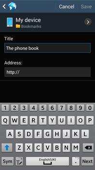 Samsung N9005 Galaxy Note III LTE - Internet - Internet browsing - Step 11