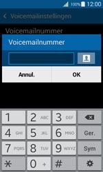 Samsung G357 Galaxy Ace 4 - Voicemail - Handmatig instellen - Stap 7