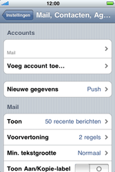 Apple iPhone 3G S - e-mail - handmatig instellen - stap 10