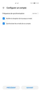 Huawei P40 Pro - E-mails - Ajouter ou modifier un compte e-mail - Étape 18
