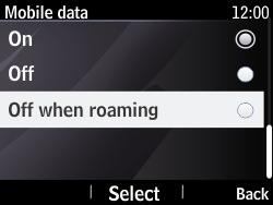 Nokia Asha 210 - Internet - Manual configuration - Step 7