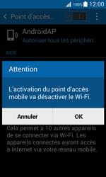 Samsung Galaxy Trend 2 Lite - Internet et connexion - Partager votre connexion en Wi-Fi - Étape 11