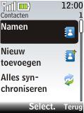Nokia 2720 fold - contacten, foto