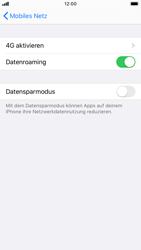 Apple iPhone 8 - iOS 13 - Ausland - Auslandskosten vermeiden - Schritt 7