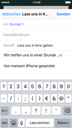 Apple iPhone SE - E-Mail - E-Mail versenden - 8 / 16