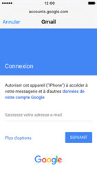 Apple iPhone 5 iOS 9 - E-mail - Configuration manuelle (gmail) - Étape 6