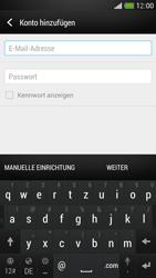 HTC One Mini - E-Mail - Konto einrichten - Schritt 6