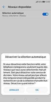Huawei Mate 10 Pro - Réseau - Sélection manuelle du réseau - Étape 7