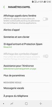 Samsung Galaxy A6 - Messagerie vocale - configuration manuelle - Étape 7