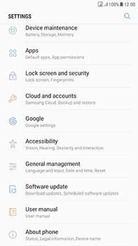 Samsung Galaxy J7 (2017) - Device - Software update - Step 5