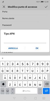 Huawei Mate 10 Pro - Android Pie - Internet e roaming dati - Configurazione manuale - Fase 13