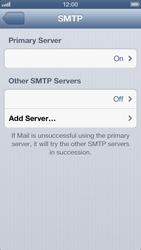 Apple iPhone 5 - E-mail - manual configuration - Step 19