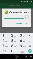 Acer Liquid Z320 - Messagerie vocale - configuration manuelle - Étape 9