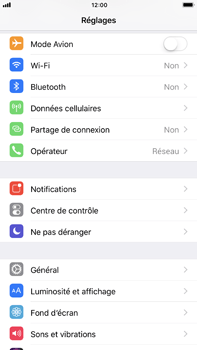 Apple iPhone 6s Plus iOS 11 - WiFi - Configuration du WiFi - Étape 3
