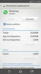 Sony Xperia Z2 - Applicazioni - Come disinstallare un