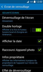 Samsung Galaxy Trend 2 Lite - Sécuriser votre mobile - Activer le code de verrouillage - Étape 5