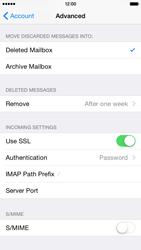 Apple iPhone 6 Plus - E-mail - Manual configuration - Step 26