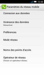 Alcatel One Touch Idol Mini - Internet et roaming de données - configuration manuelle - Étape 7