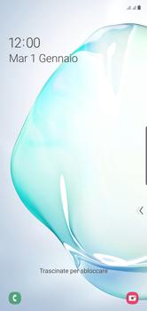 Samsung Galaxy Note 10 - Dispositivo - Come eseguire un soft reset - Fase 6