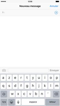 Apple iPhone 6s Plus - Contact, Appels, SMS/MMS - Envoyer un SMS - Étape 4