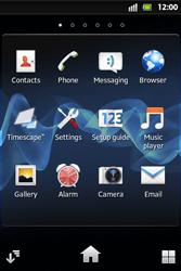 Sony ST27i Xperia Go - MMS - Manual configuration - Step 3