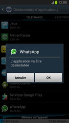 Samsung Galaxy Note 2 - Applications - Supprimer une application - Étape 7