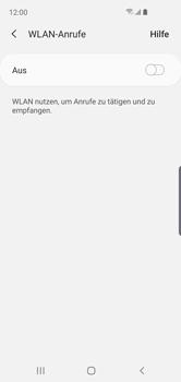 Samsung Galaxy S10e - WiFi - WiFi Calling aktivieren - Schritt 7