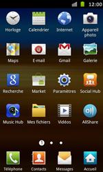 Samsung Galaxy S Advance - MMS - Configuration manuelle - Étape 3