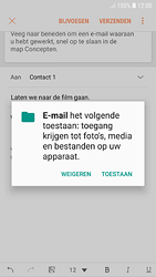 Samsung galaxy-s7-android-oreo - E-mail - Hoe te versturen - Stap 12