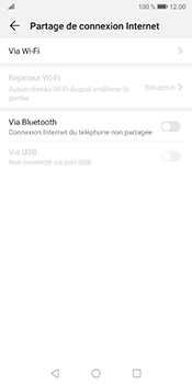 Huawei Mate 10 Pro - Android Pie - WiFi - Comment activer un point d'accès WiFi - Étape 5
