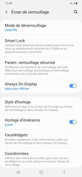 Samsung Galaxy A50 - Sécuriser votre mobile - Activer le code de verrouillage - Étape 13