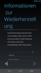 Huawei Ascend Mate - Apps - Konto anlegen und einrichten - Schritt 13