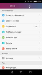 Huawei Huawei Y5 II - Device - Factory reset - Step 4