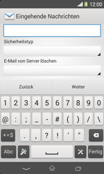 Sony Xperia E1 - E-Mail - Konto einrichten - Schritt 10