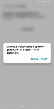 LG Q7 - Resetten - Fabrieksinstellingen terugzetten - Stap 8