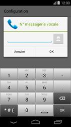 Acer Liquid E600 - Messagerie vocale - Configuration manuelle - Étape 9