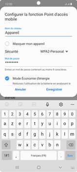 Samsung Galaxy Note20 - Internet et connexion - Partager votre connexion en Wi-Fi - Étape 9