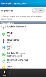 BlackBerry Z10 - Internet - Manual configuration - Step 5