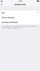 Apple iPhone 8 - iOS 12 - Réseau - Activer 4G/LTE - Étape 6
