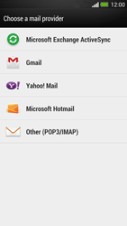 HTC One - E-mail - Manual configuration - Step 5