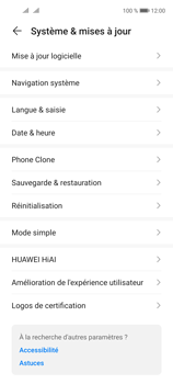 Huawei P40 Lite 5G - Aller plus loin - Mettre à jour le logiciel interne de votre mobile - Étape 5