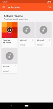 Google Pixel 3a - Photos, vidéos, musique - Ecouter de la musique - Étape 5