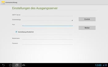 Asus Padfone 2 - E-Mail - Konto einrichten - Schritt 15