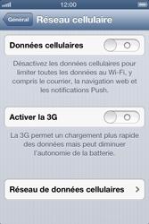 Apple iPhone 4 - iOS 6 - Internet - configuration manuelle - Étape 6