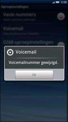 Sony Xperia X10 - Voicemail - Handmatig instellen - Stap 7